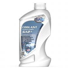 MPM Koelvloeistof Coolant Premium Longlife -40°C G12+ Ready to Use Clear/Blank 1l Fles